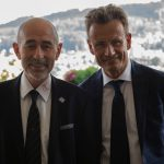 2018 mit Matthias Remund, Direktor Bundesamt für Sport