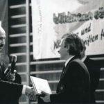 1996 Ehrung NSK-Präsident Tommaso Mini