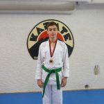 Max mit Bushido-Medaille