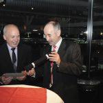 EM 2011 Ehren-Gürtel für Bundesrat Ueli Maurer