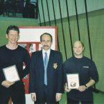 2000 Ehrung Reto Kern und Ronald Horisberger