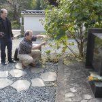 2008 Grabstätte Gichin Funakoshi mit Piero Lüthold, Kamakura
