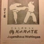 1974 Werbung für Training
