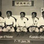 Instruktoren im Kondo-Dojo
