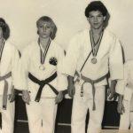 Erste Schulmeisterschaften 1977  Thomas Weber, Monika Huber, Daniel Humbel, Ari Grau