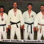 Robert Schaffner mit Elson Kabashi und Reto Kern