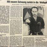 1988 Zeitungsbericht Ziele, Strategie
