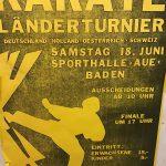 1988 Länderturnier Plakat