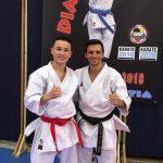 2018 mit dem 2fachen Kata-Weltmeister Antonio Diaz