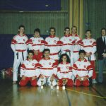 Nationalmannschaft Wadokai mit Ferenc Kalamasz