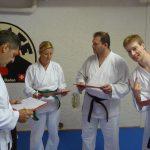 Prüfungsexperten Simone, Sabine, Christian und Robert