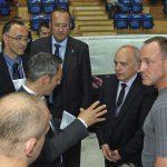 EM 2011 Thomas Peyer im Gespräch mit Bundesrat Maurer