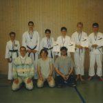 Team Bushido mit Coachs Conny Brunner und Thomas Meier