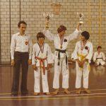 Erster Nationaler Kata-Titel: Ari Grau, Thomas Weber, Adnan Abadzic
