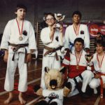 25. Kata SM Sieg (Studer, Miletic, Silva), 1985, vorne Knecht, Tinner