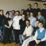 1987 Trainerausbildung Goldiwil mit Arturo Hotz, vorne rechts Manfred Haberer