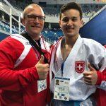 2018 EM U18 Sochi mit Nationaltrainer Simone Posavec