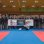 2017 Promotion für Olympia 2024 mit Yuki Ujihara und allen Schiedsrichtern
