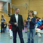 AKV Präsident Fredi Keel, Nicole Zwissig