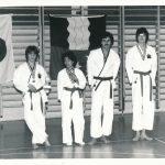 SM Medaillen Wado Ferenc Kalamasz, Mary Gindrat, Ewald Monn und Roger Keller