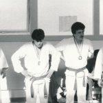 Heinz Güdel mit Sandro und Roberto Danubio