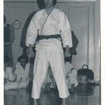 1977 Heinz Messmer, erster Schüler von Bushido Baden