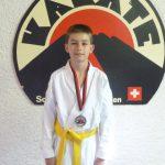 Auch ich habe eine Medaille gewonnen