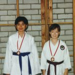 Nanny Nguyen und Thomas Schweizer Wadokai Meister