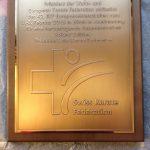 2015 Ehrentafel SKF WKF-Präsident Antonio Espinos