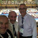 2019 EM Guadalajara mit Boris Radjenovic, Giuseppe Puglisi
