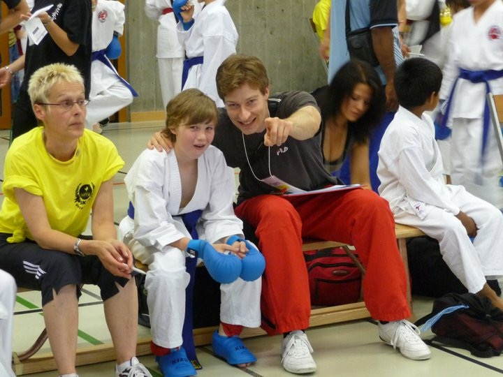 Lars und Coach Robert JKL