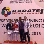 2018 Sieg U18 am K1 in Sofia