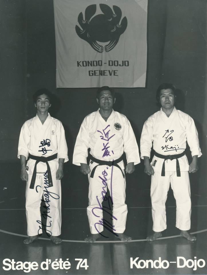 Nakajima, Kondo, Kaji