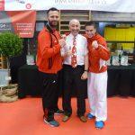 2017 SM mit Europameister Fehmi Mahalla und Kujtim Bajrami, WM-Bronze