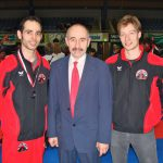Mit Mehdi Geiger und Robert Zobec Swiss Karate League