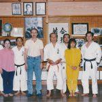 1989 Dojo Okinawa mit Katsuya Miyahira, 10. Dan