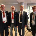 2017 World Karate Day München mit Georg Russbacher, Antonio Espinos, Wolfgang Weigert