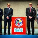 2016 Promotion Olympia Tokio 2020 mit Antonio Espinos, Georg Russbacher, Wolfgang Weigert