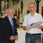 2012 Übergabe eidg. Fachausweis an Karl Huber