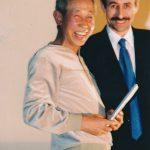 2000 Ehrenmitgliedschaft an Sugiumura-Sensei