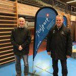 2017 mit Piero Lüthold Unterstützung für PluSport