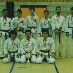 2. Rang Team-Kata: Fabian Silva, Ferenc Kalamasz, Thomas Studer