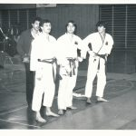 Roger Erne, Bruno Lardi, Mario Monte, Coach Daniel Humbel