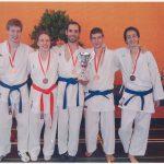 SM Bronze: Robert Zobec, Mehdi Geiger, Roman Schumacher, Adrian Burger mit Fabienne Künzli