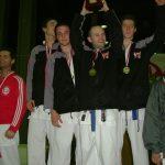 Eros Bilgerig Schweizermeister Team-Kumite