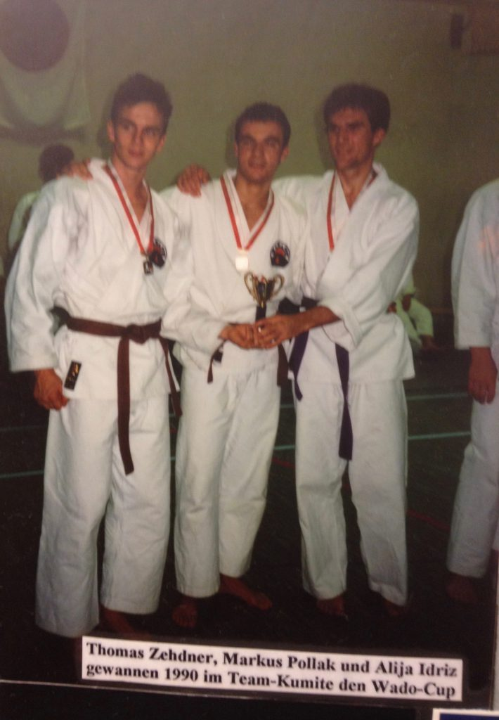 Thomas Zehnder, Marcus Pollak, Alija Idriz - Wado-Cup 1990