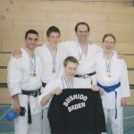 Aargauer Meister 2006: Eddy Taouk, Alija Idriz, Fabienne Künzli, Robert Zobec mit Eros Bilgerig