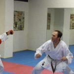 Kumite-Training mit Fabienne Künzli