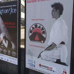 Werbung Karate in Baden