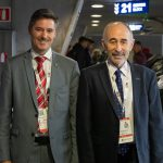 2018 Mit Vize-Präsident Marc Keller WM Madrid
